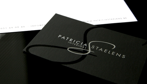 Post image for Patricia Staelens' Minimalist Business Card