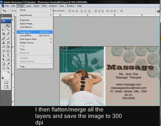 Making your own business card adobe photoshop for How to make homemade business cards