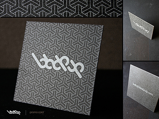 Black Pulp's Graphic Design Business Card