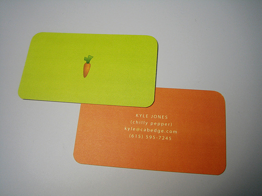 Cabedge's Full Color Business Card