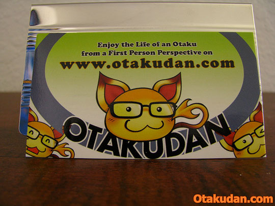 Otaku Dan's Anime Business Card