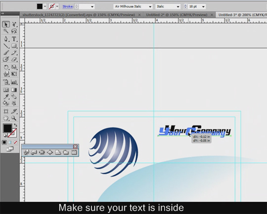 Making Your Own Business Card in Adobe Illustrator