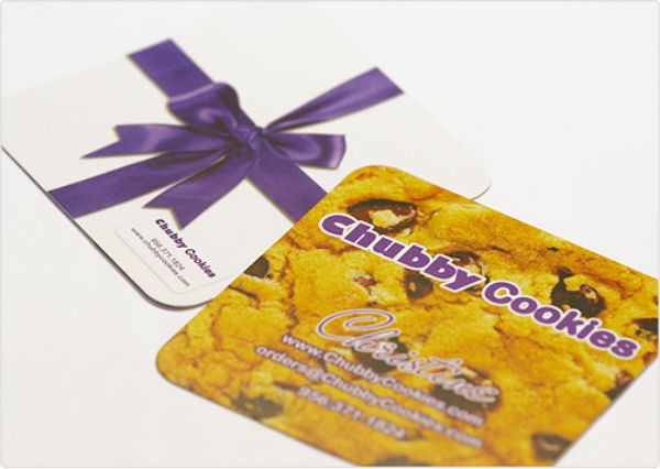 Chubby Cookie's Chubby Business Card