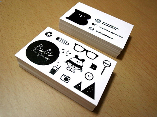 Bubi Au Yeung's Creative Business Card