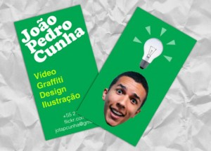 Joao Pedro Cunha Video graffiti design 300x216 Best of Business Card 2010