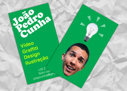 Post image for Joao Pedro Cunha's Funny Business Card