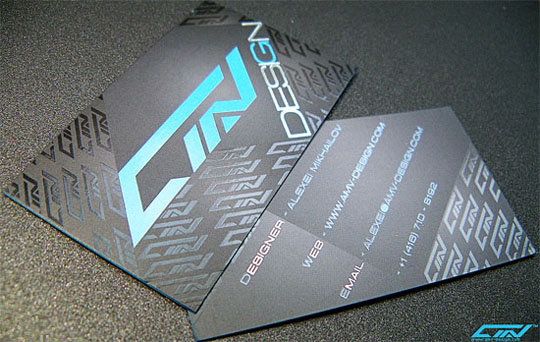 AMV's Designer Business Card