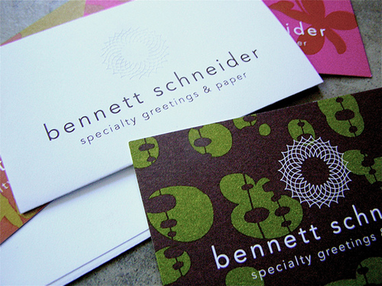 Bennett Schneider's Cool Business Card