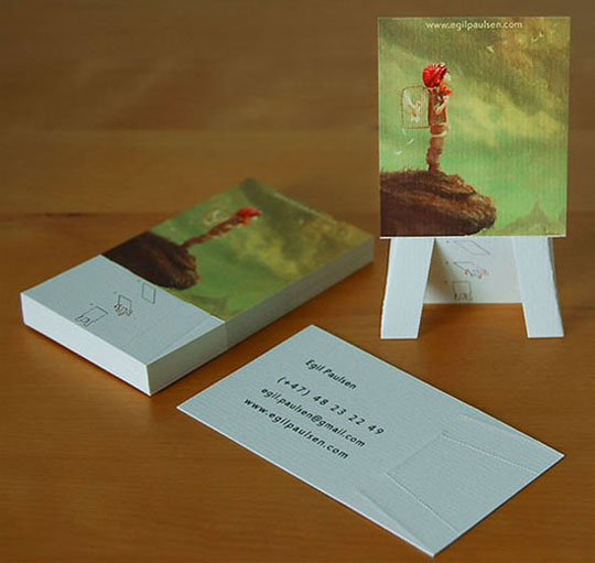 Post image for Egil Paulsen's Creative Business Card