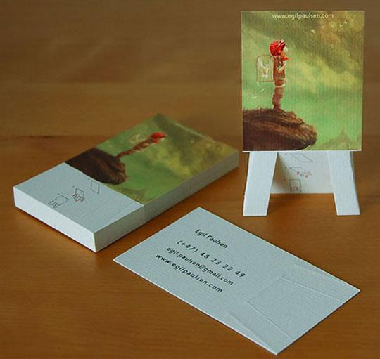 Egil Paulsen's Creative Business Card