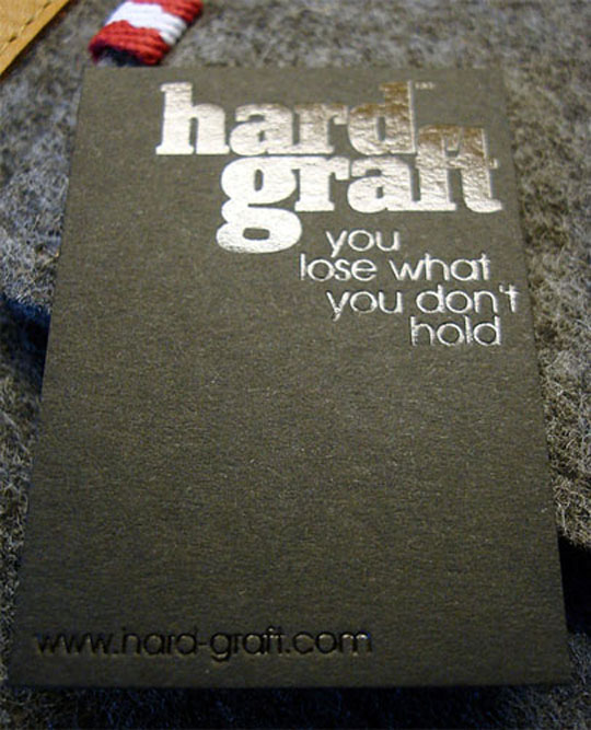 Hard Graft's Cool Business Card