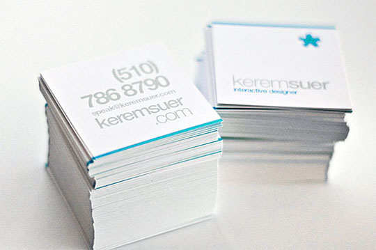 Kerem Suer's Designer Business Card
