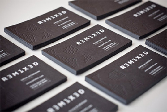 R3m1x3d's Textured Business Card