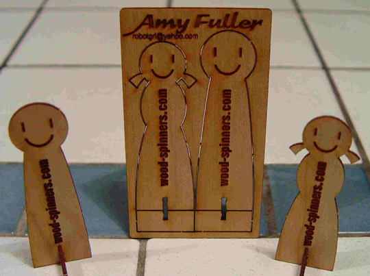 Amy Fuller's Unique Business Card