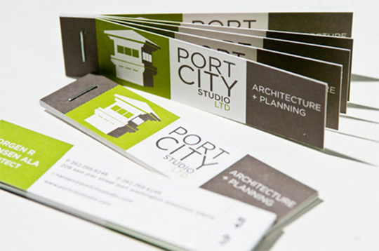 Port City's Construction Business Card