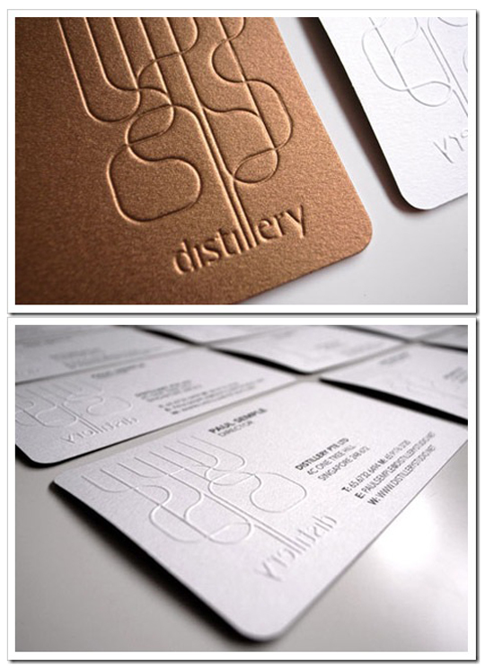 Post image for Distillery Studio's High Quality Business Card