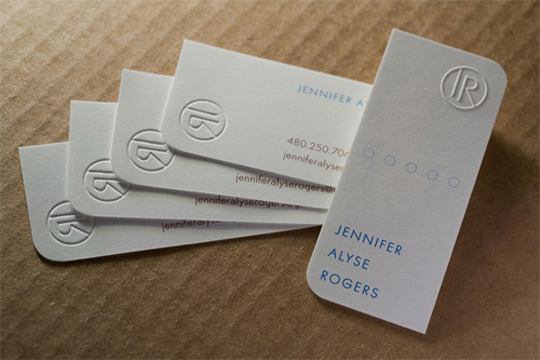 Post image for Jeniffer Alyse Roger's Business Card
