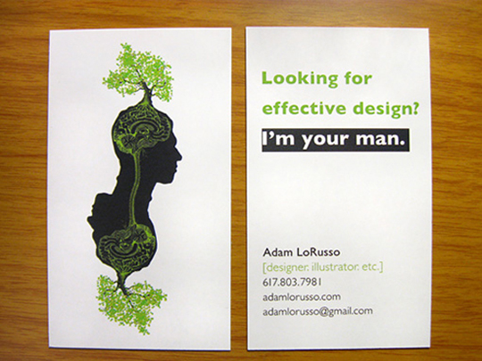 Adam Lorusso's Creative Business Card