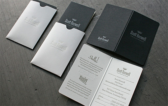 Post image for Scott Boswell's Folding Business Card