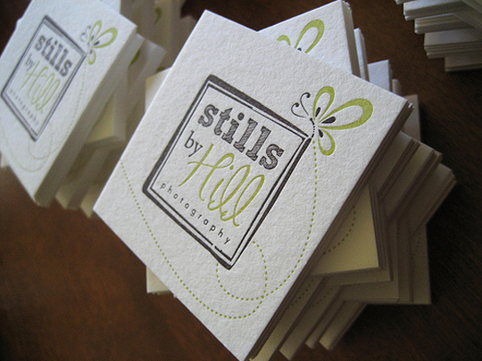 Stills Cute Business Card
