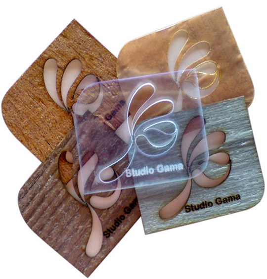 Studio Gama's Textured Business Card