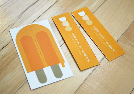 Cute Business Card For Duo