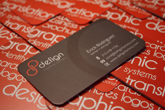 Defign's Designer Business Card