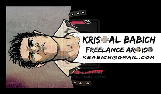 Kristal Babich's Cool Business Card