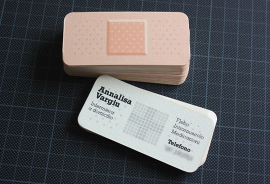 Post image for Analisa Vargiu's Medical Business Card