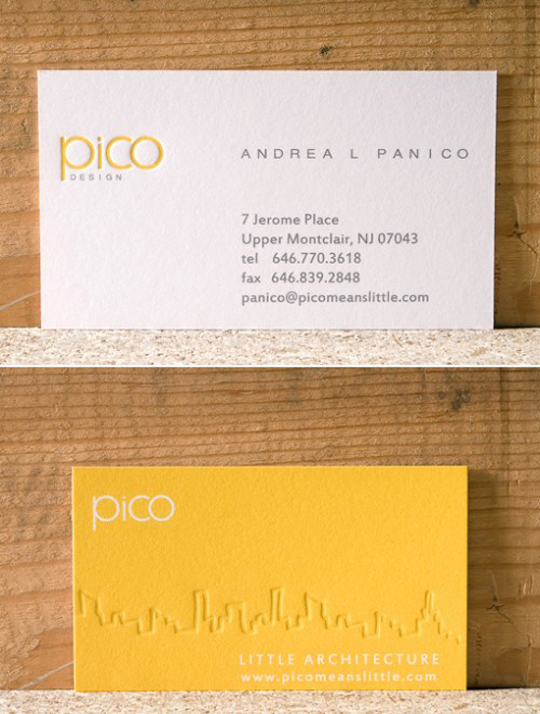 Pico Design's Cool Business Card