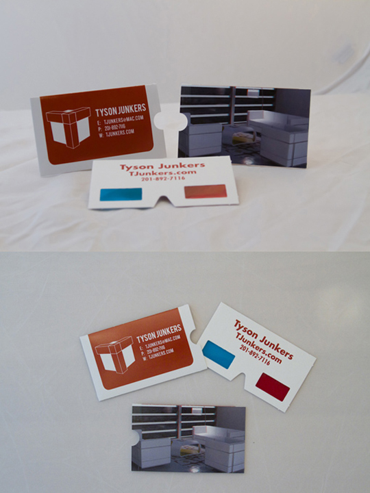 Tyson Junker's Cool Business Card