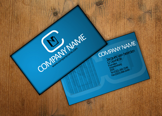 Post image for Cool Free Business Card Template by An1ken