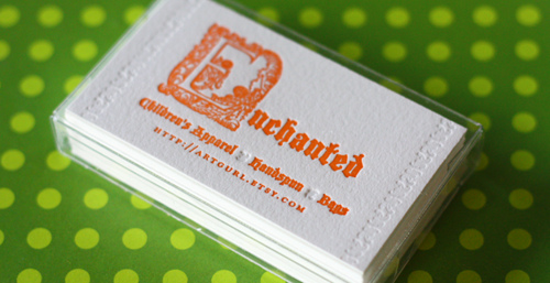 Post image for Enchanted's Cute Business Card