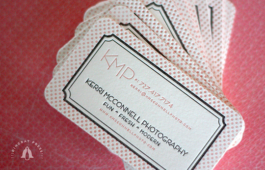 Kerri McConnell's Photography Business Card