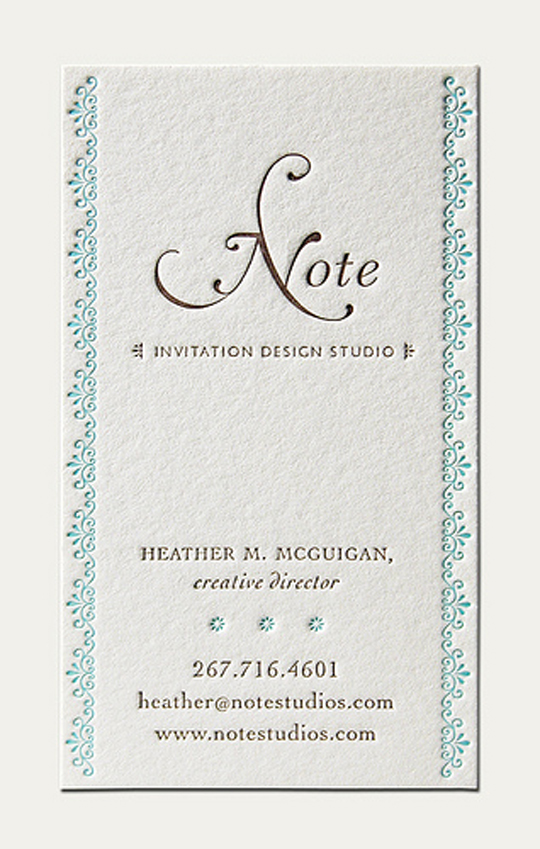 Note's Cute Business Card