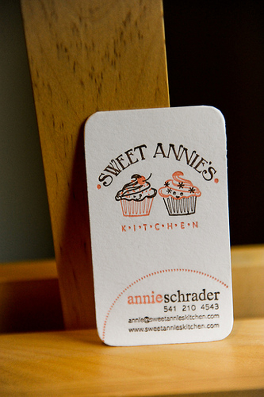 Sweet Annie's Cute Business Card