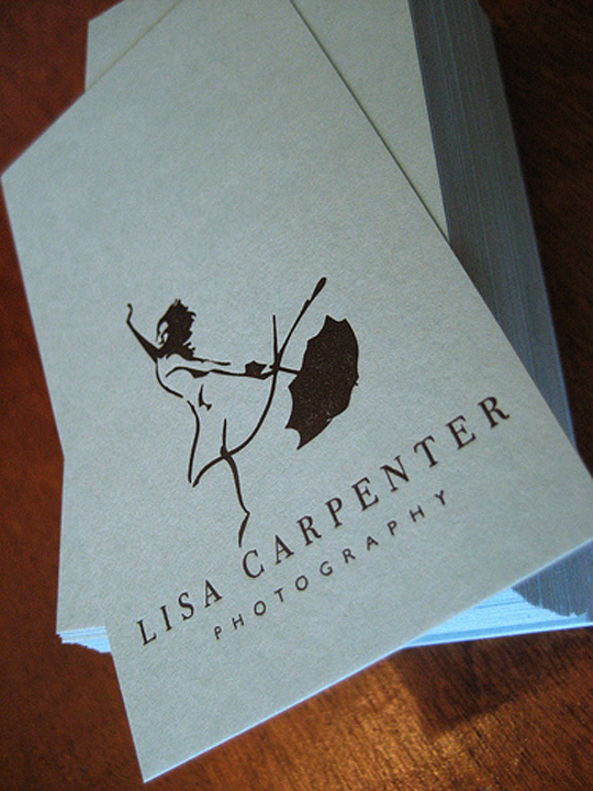 Lisa Carpenter's Photography Business Card