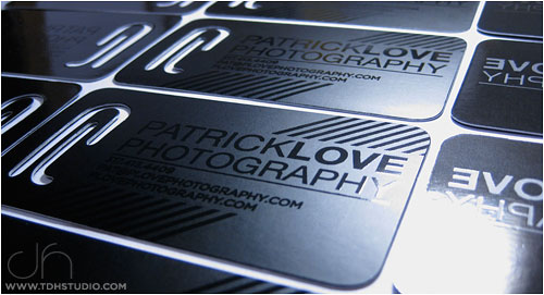 Partick Love's Photography Business Card