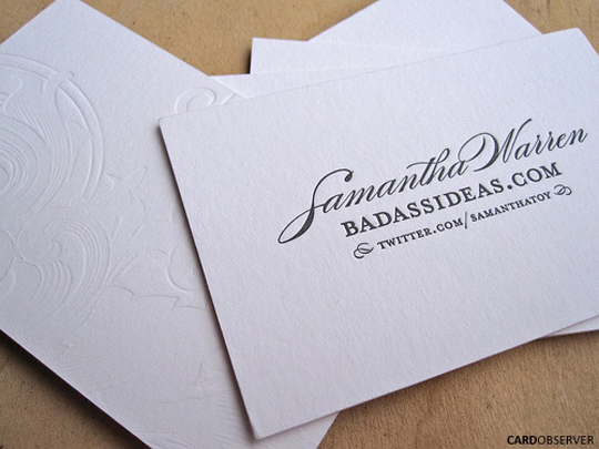 Post image for BadassIdeas' Designer Business Card