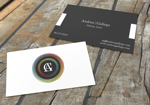Post image for Andrea Gallego's Beauty Business Card