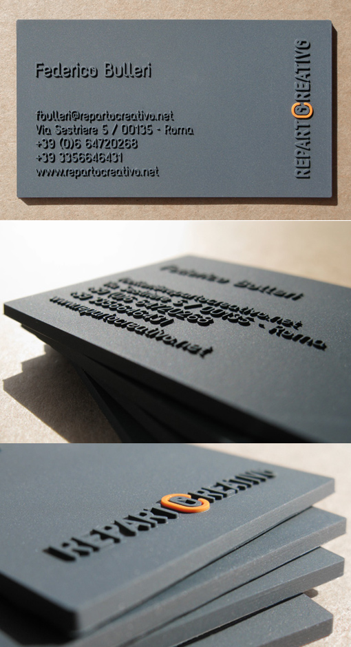 Reparto Creativo's High Quality Business Card