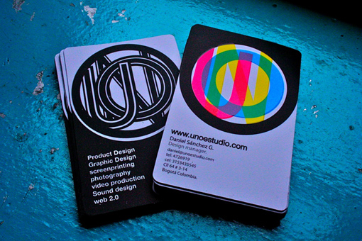 Unoestudio's Graphic Designer Business Card
