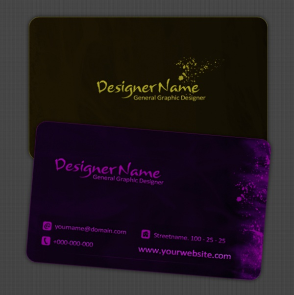 Free Business Card Template by Proyect Studio