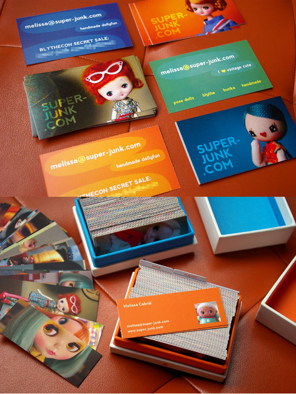 Super-Junk's Cute Photography Business Card