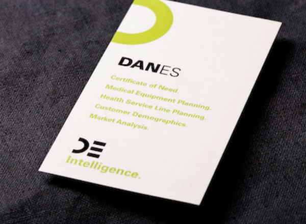 Danes Planning Simple Business Card