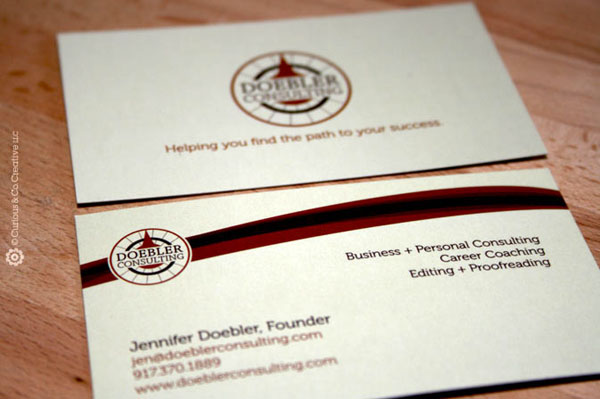 Doebler Consulting's Simple Business Card