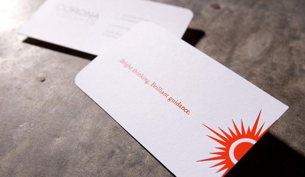 CoronaInsight's Simple Business Card