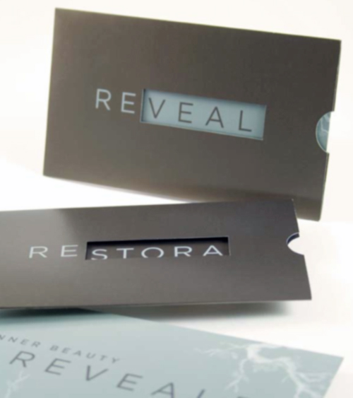 Restora Austin's Business Card