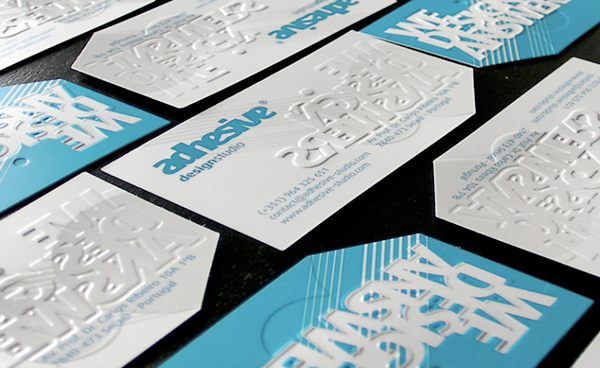 Adhesive Studio's Cool Business Card