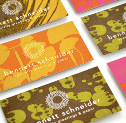 Bennett Schneider's Business Card